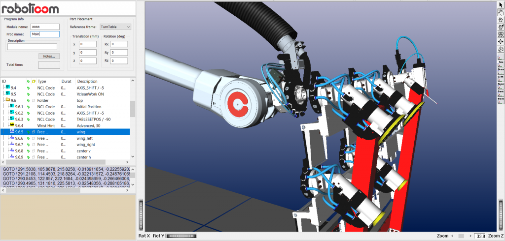 Auto Tool Change – ARPP offline Programming and simulation software
