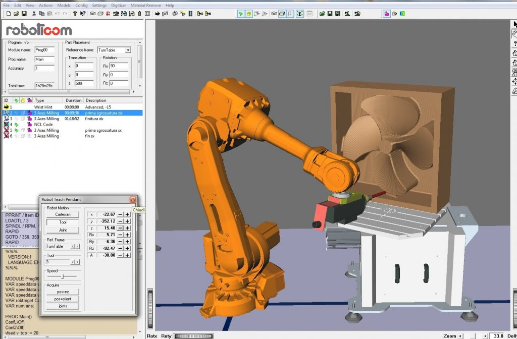 Rapid Prototyping – ARPP offline Programming and simulation software