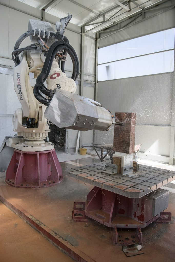 Robotic Stone Carving