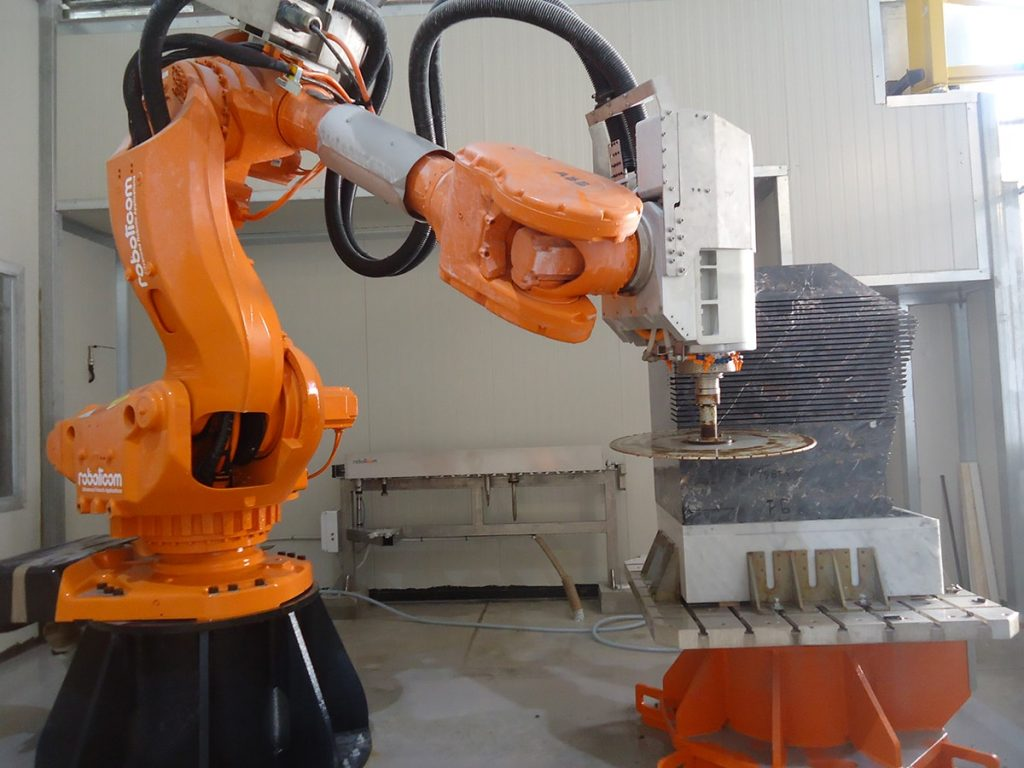 Robotic Stone Sculpting
