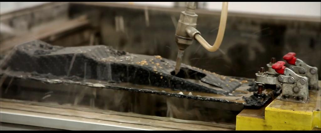 Robotic Water Cutting