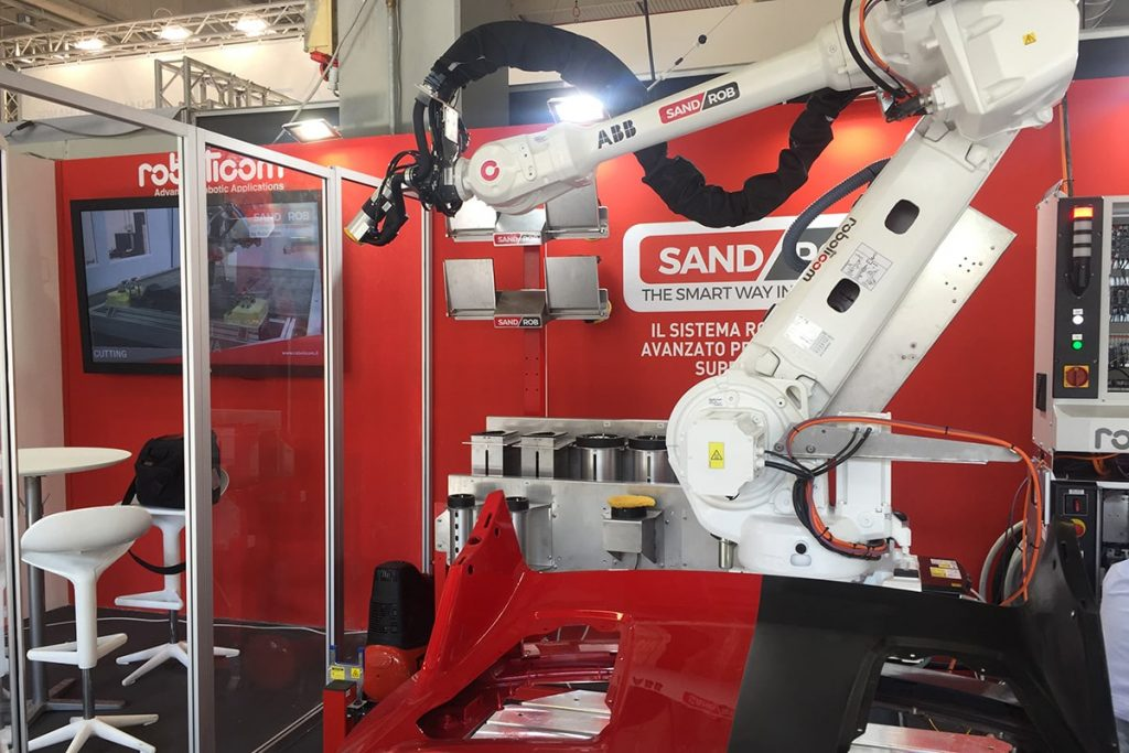 SandRob for Sanding and Polishing